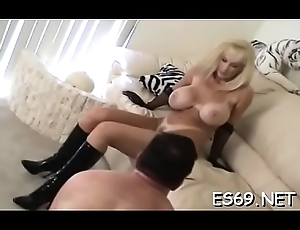 Gals smothering cissy males