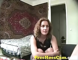Sexy Amateur Russian Bonks In Underthings - Watch Less On FreeHoesCam.com