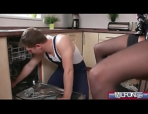 French MILF Seduces the Plumber(Anissa Kate) 01 clip-09