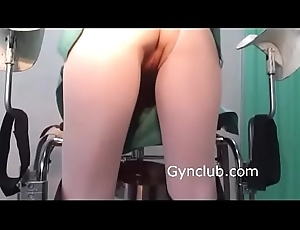 nurse masturbates on gynecological chair (10)