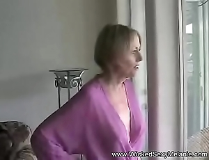 POV Fun At Abode With Amateur Granny