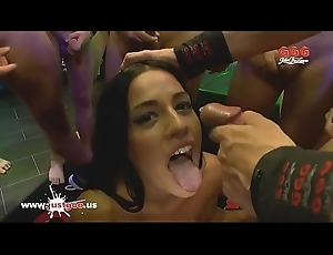 Beautiful Eveline Dellai Anal obedient close to Germany - German Goo Girls