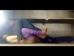 colleage girl funking in room