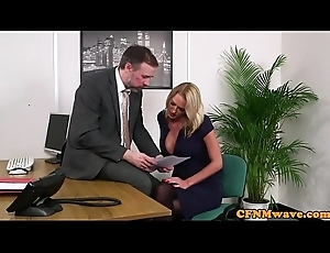 Busty british femdom tugs become alert in the air pizzazz trilogy