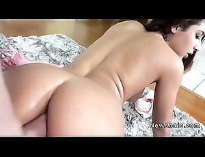 Finished ass fiance receives anal fucked