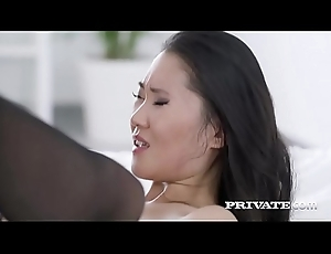Get under one's Asian Katana near her first interracial