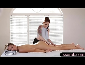 Tight masseuse lesbosex with law partisan