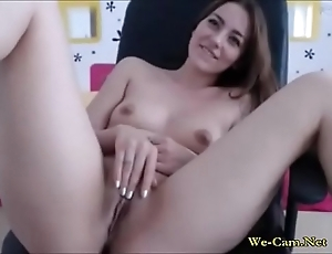 Juvenile wife over the extent of fun in web camera chat