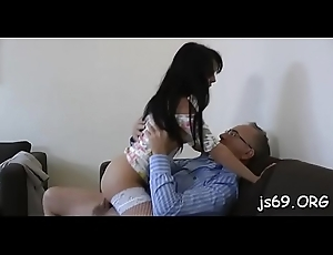 That babe loves those old lady's man cocks