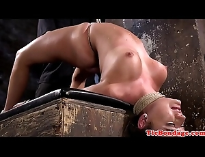 Affianced prex s&m sub fingered and whipped