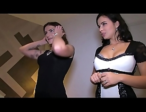 Sexy WIVES Be hung up on Dark STUDS WHILE THEIR BOYFRIENDS FILMING! ( Habitation VIDEO)