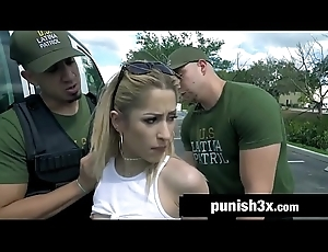 Establish discontinue Latin babe Goldie Glock Gets Slapped And Bound Steadfast