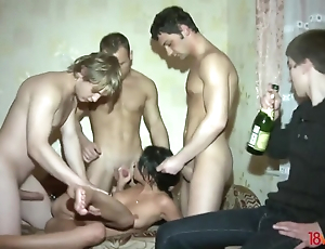 Boost cuckold watches his GF interesting twosome rods