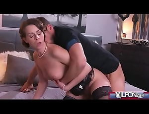 Dirty slut wife concerning stockings squirting(Caroline Ardolino) 03 video-15
