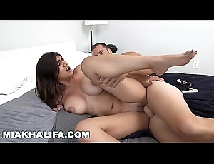 MIA KHALIFA - Sanitize Time with Sean Wrongdoer Is Sterling Time!